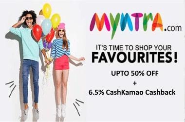 CashKamao-Myntra-cashback-offers